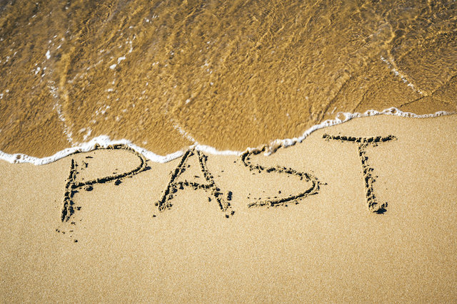 dont stay to the past