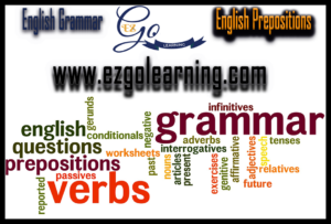 English Grammar English Prepositions Mcqs