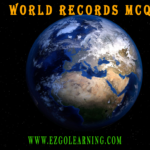 World Record Mcqs