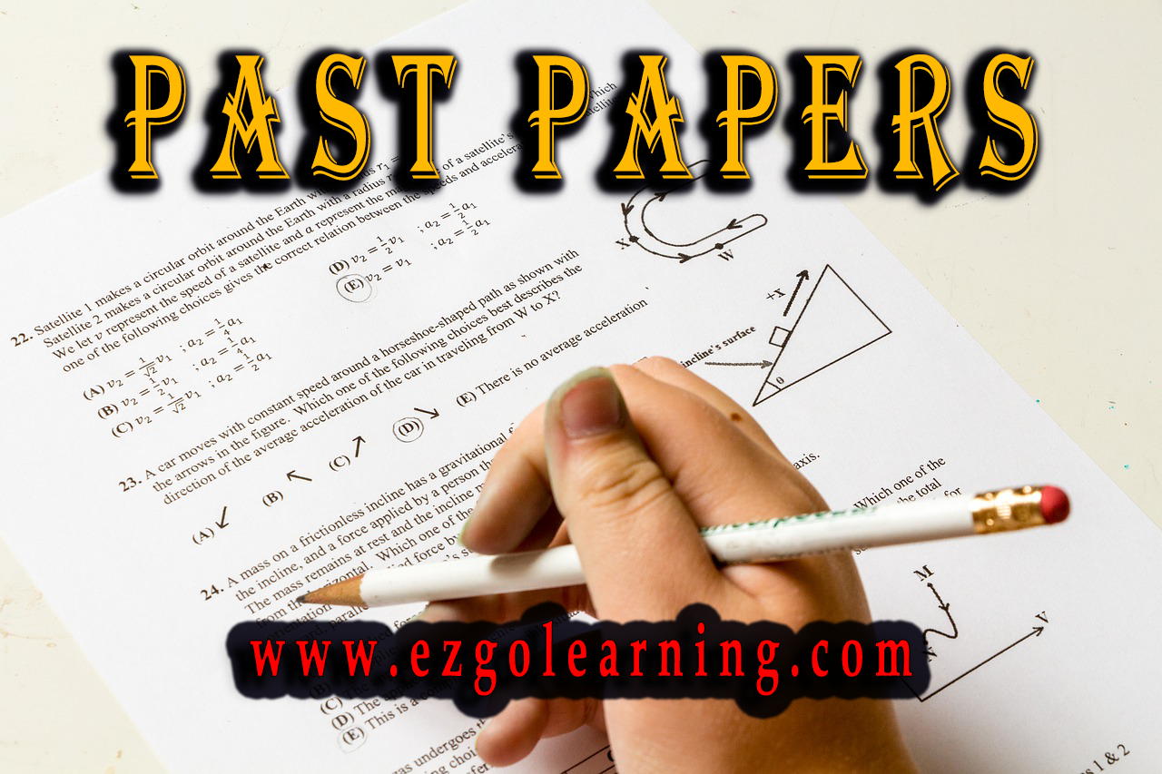 Assistant Director IB Past Papers Mcqs Fpsc