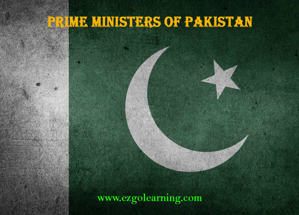 Prime Ministers of Pakistan List