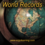 World Records General Knowledge MCQS