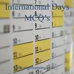 International Annual Days Mcqs